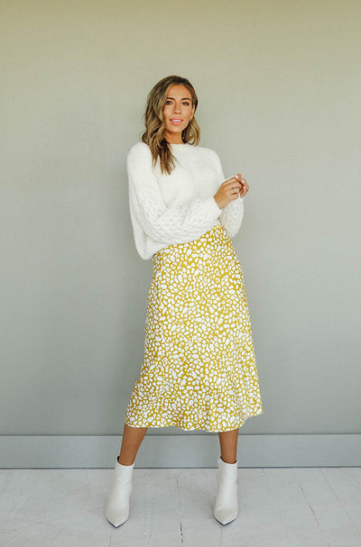 Love Louder Spotted Skirt