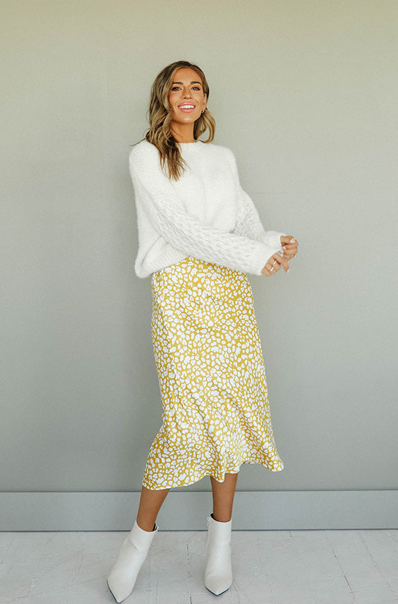 Love Louder Spotted Skirt - FINAL SALE