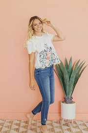 Valentina Scalloped Lace Top - FINAL FEW