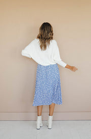 Maryland Blue Polka Dot Skirt - FINAL FEW