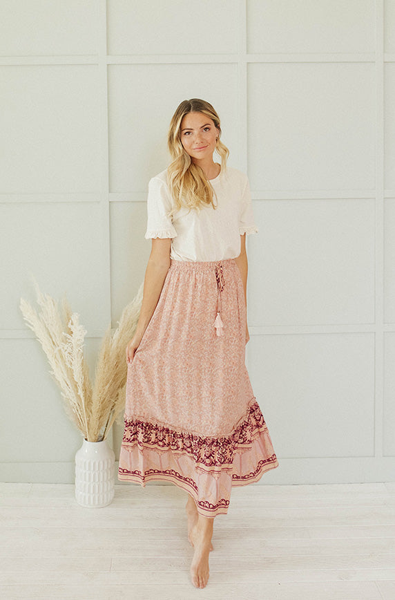 New Soul Peach Skirt
