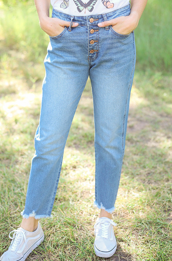 Cami Mom Jeans - FINAL SALE