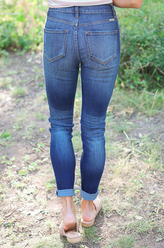 Lauren High Rise Super Skinny Jean
