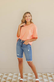 Happy Anywhere Neon Top