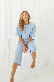 Girls Night In Sky Blue Set