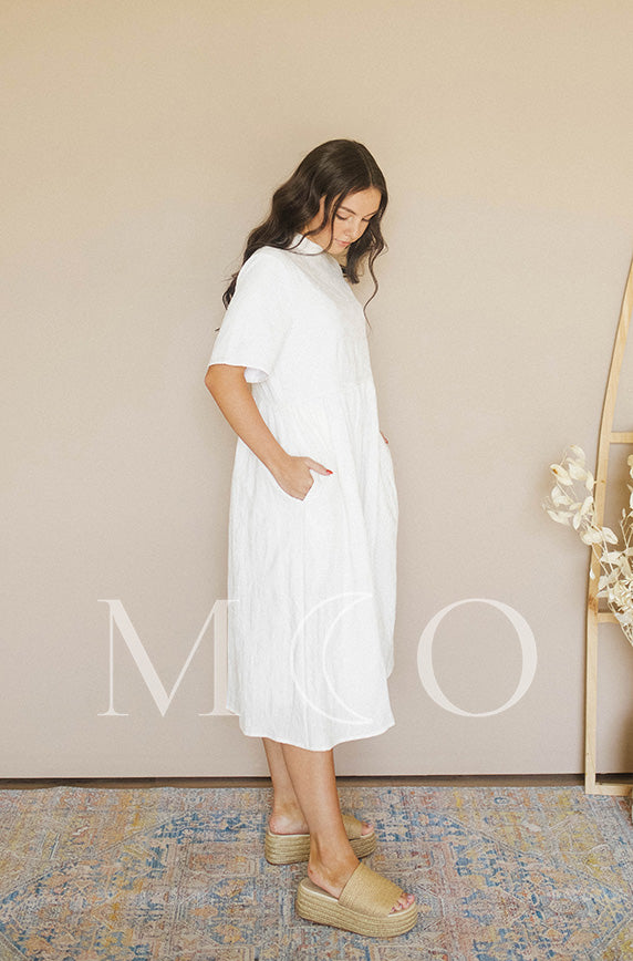 Minette Ivory Dress - MCO - Preorder