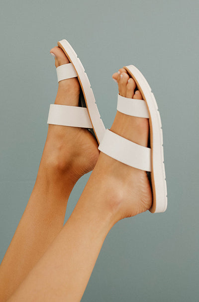 Beachfront White Sandal