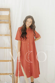 Leora Amber Dress - MCO - Nursing Friendly