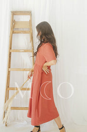 Leora Amber Dress - MCO - Nursing Friendly - Preorder