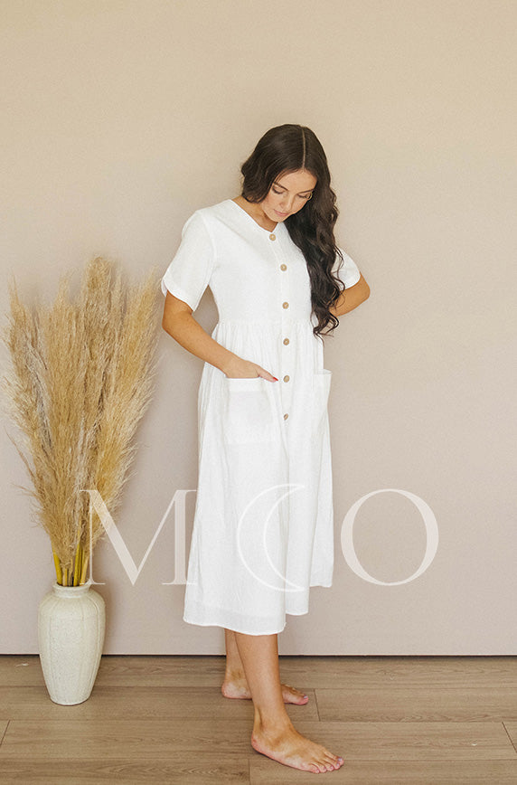 Robin White Dress - MCO