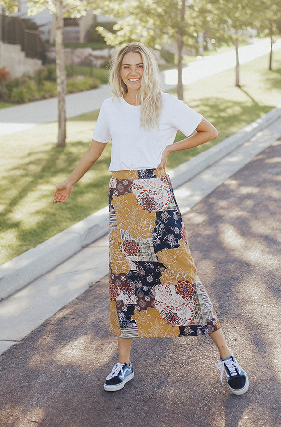 Cedars Pass Patchwork Skirt