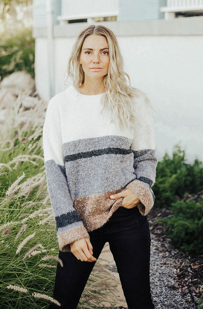 Misty Mornings Sweater - Restocked
