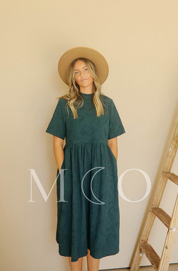 Minette Forest Green Dress - MCO