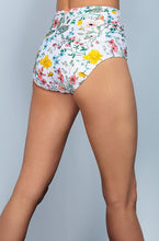 Ruched High Waisted - Sunny May Floral - DM Fashion