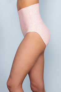 Banded Midrise - Dusty Pink Stripes - DM Fashion