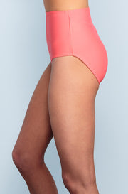 High Waisted - Sunrise Coral - DM Fashion