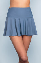 Ruffle Skirt - Ash Blue - DM Fashion