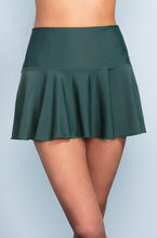Ruffle Skirt - Jasper Green - DM Fashion