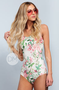 Lace Up One Piece - Dahlila Rose - DM Fashion