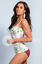 Sweetheart Ruched Tankini - Dahlila Rose - DM Fashion