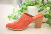 Isabella Watermelon Heels - FINAL SALE