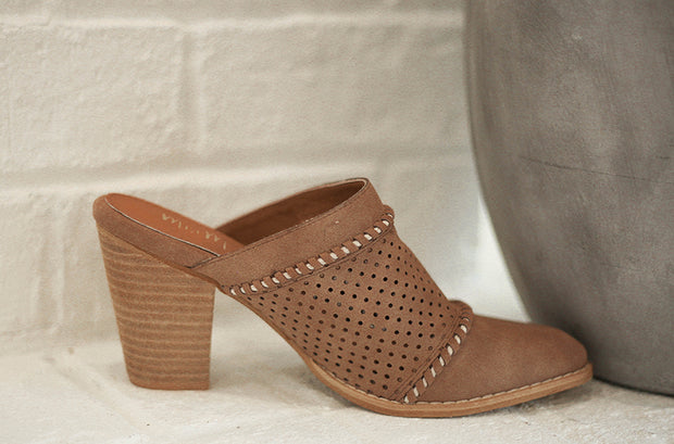 Isabella Brown Heels - FINAL SALE