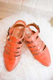 Eleanor Watermelon Strappy Sandals