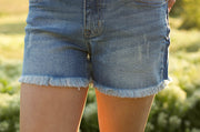 Tess Frayed Shorts