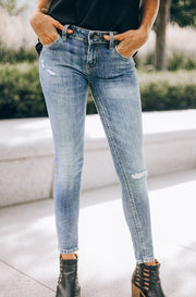 Pistola Low Rise Skinny Jean - DM Fashion