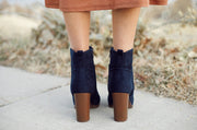 Passion Navy Boots - FINAL SALE