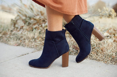 Passion Navy Boots