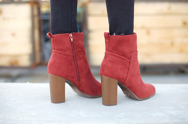 Passion Rust Boots - FINAL SALE