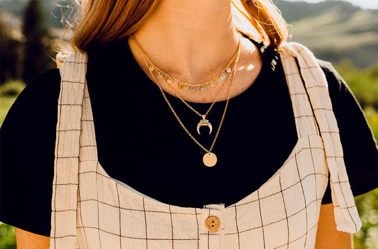 Gold 3 Layer Necklace - FINAL SALE