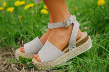Daniella Platforms in Grey
