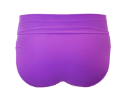 Banded Midrise - Purple - FINAL SALE - DM Fashion