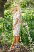 Sophie -  Daisy Embroidery Floral Dress - DM Exclusive