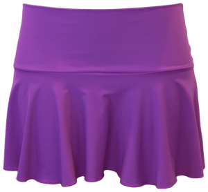Ruffle Skirt - Purple - DM Fashion
