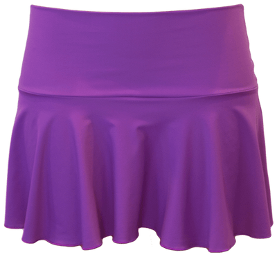 Ruffle Skirt - Purple - FINAL SALE - DM Fashion