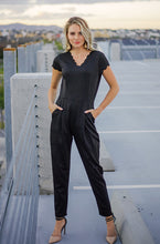 NEW YORK CITY - Black Scalloped Jumpsuit - DM EXCLUSIVE