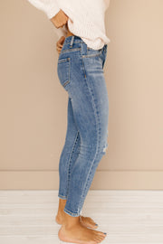 Free Spirit Distressed Skinny Jeans