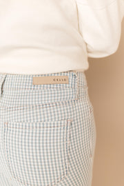 Lucille Gingham Pants