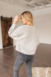 My Wish Knit Hacci Oversized Top - FINAL FEW
