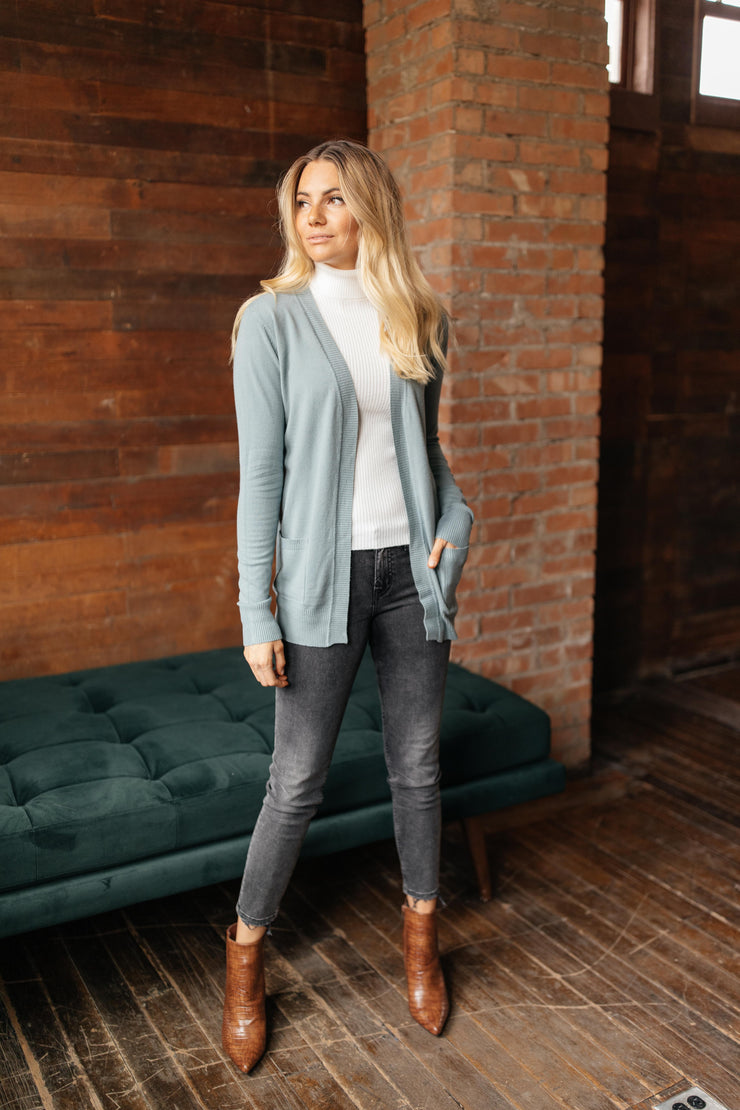 Cobblestone Blue Cardigan