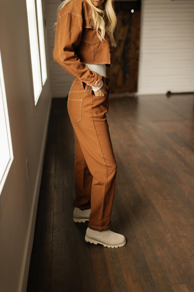Eastwood Cropped Pant Set