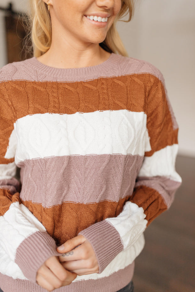 November Stripe Sweater