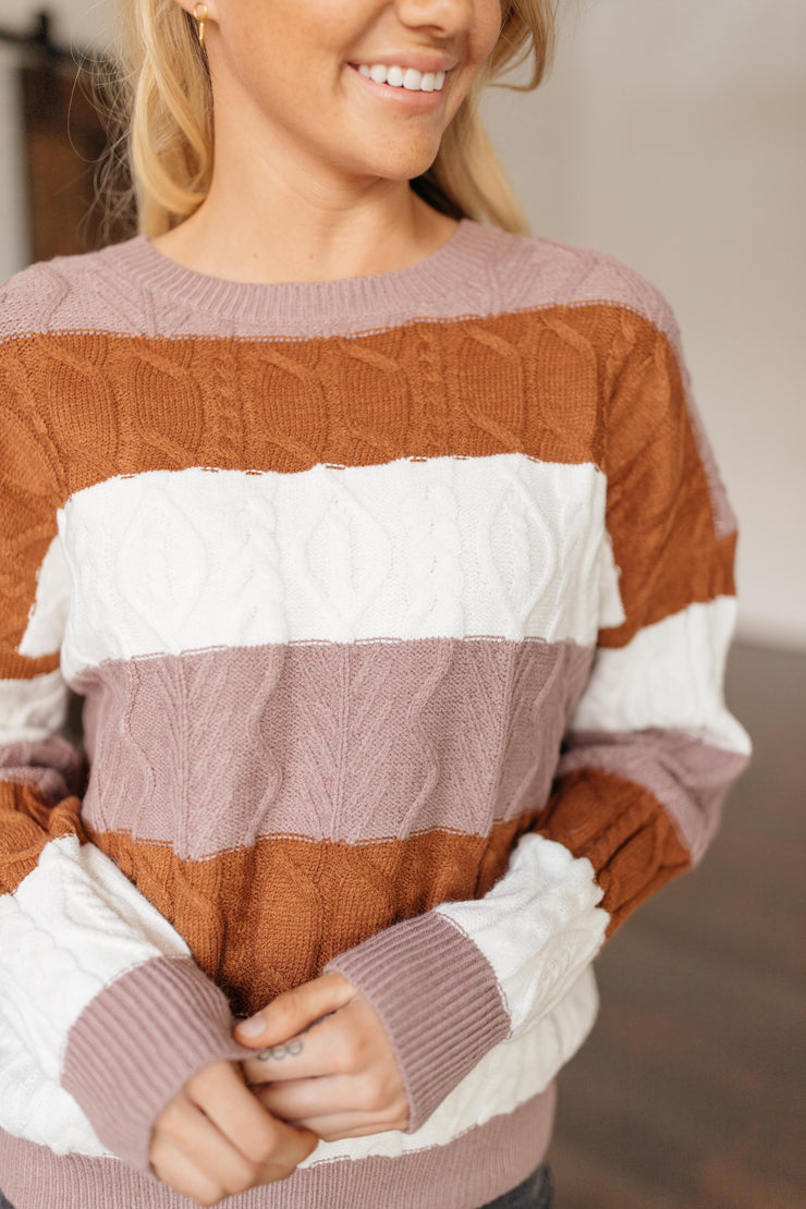 November Stripe Sweater - FINAL FEW
