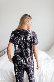Love Myself Black Tie Dye Set