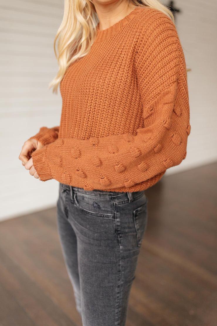 Sunday Evening Brick Sweater