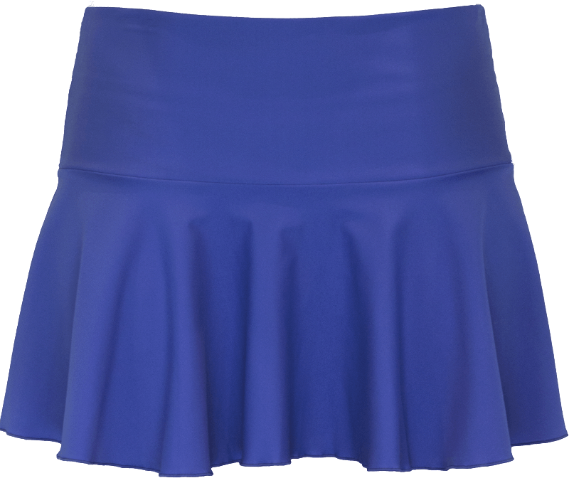 Ruffle Skirt - Royal Blue