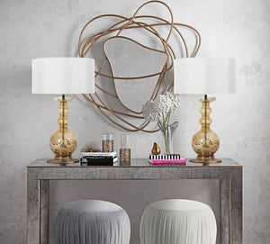 Console Table Decor : Table Lamps to Choose From